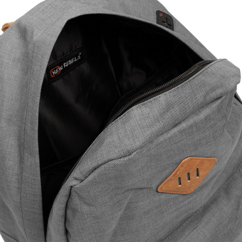 New Rebels Heaven Backpack Anthracite XV | Rugtas | Rugzak
