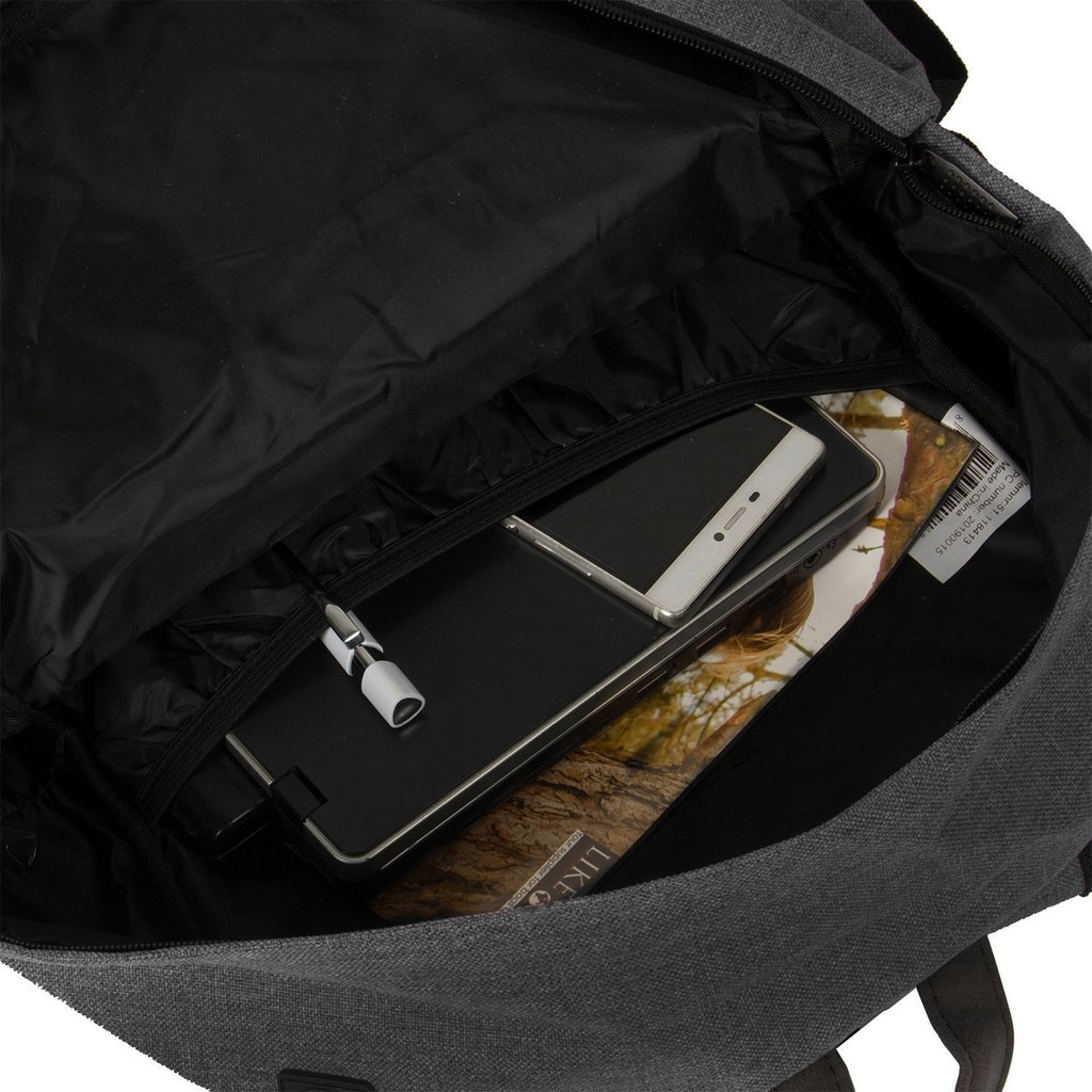 New Rebels Heaven Backpack Black XV   Rucksack