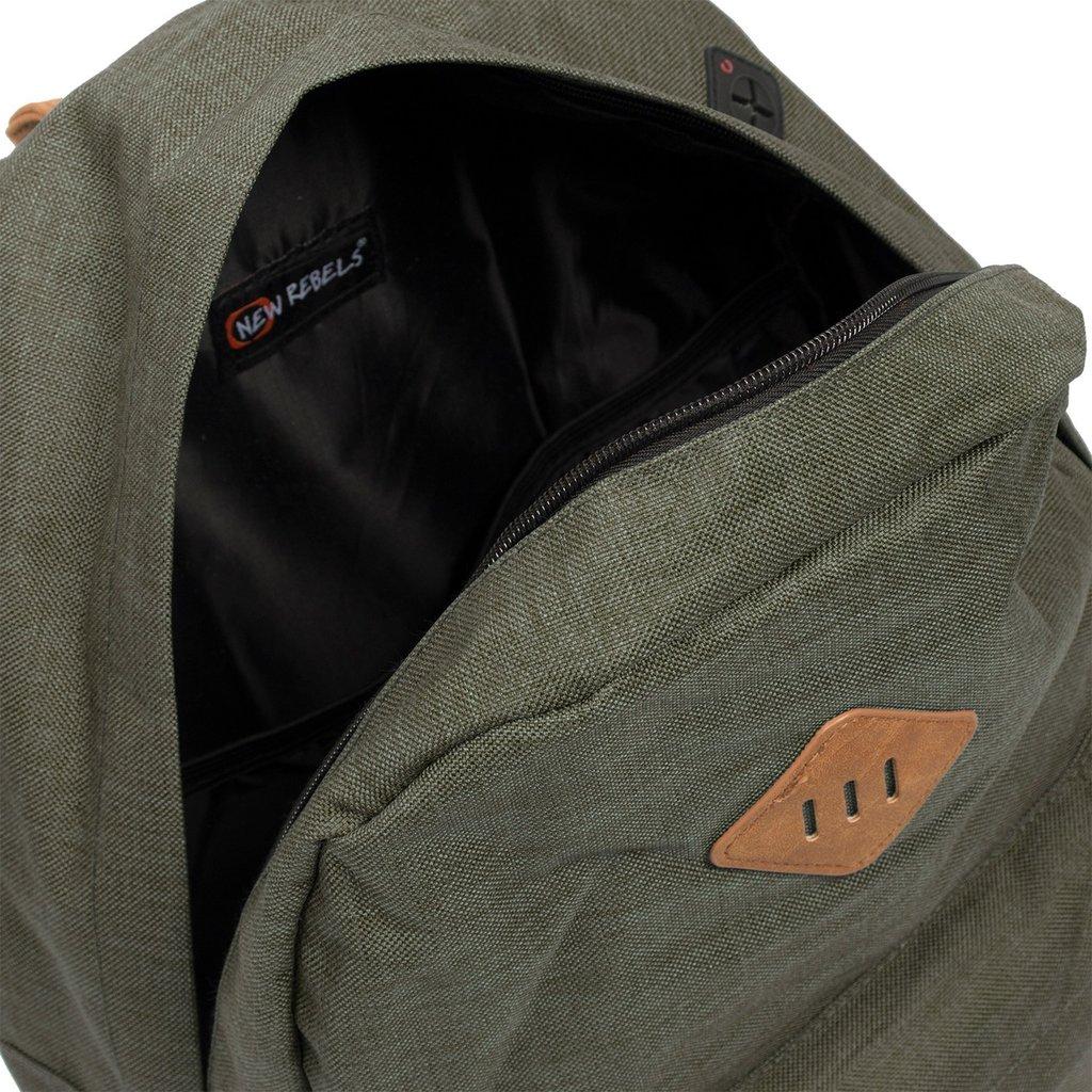 Heaven Backpack Dark Green XV   Rugtas   Rugzak
