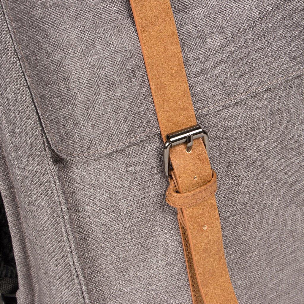 Heaven Big Square Backpack Anthracite 14L XXV | Rucksack