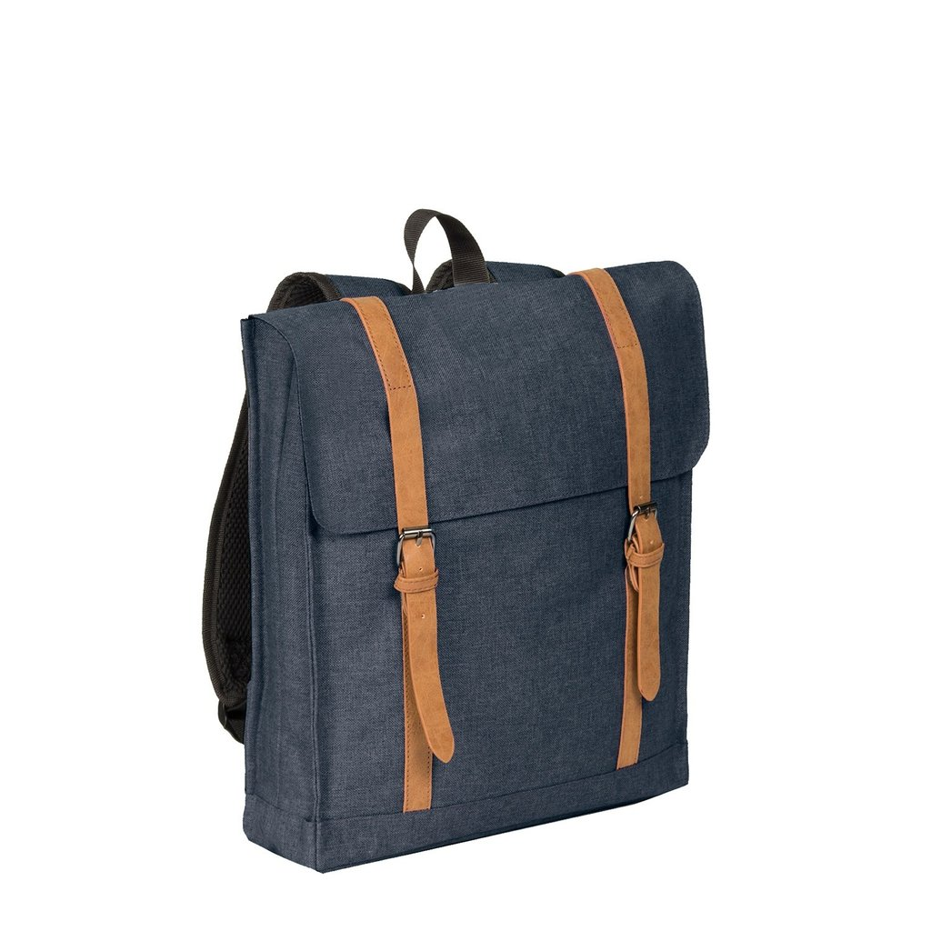 Heaven Big Square Backpack Shadow Blue 14L XXV   Rucksack