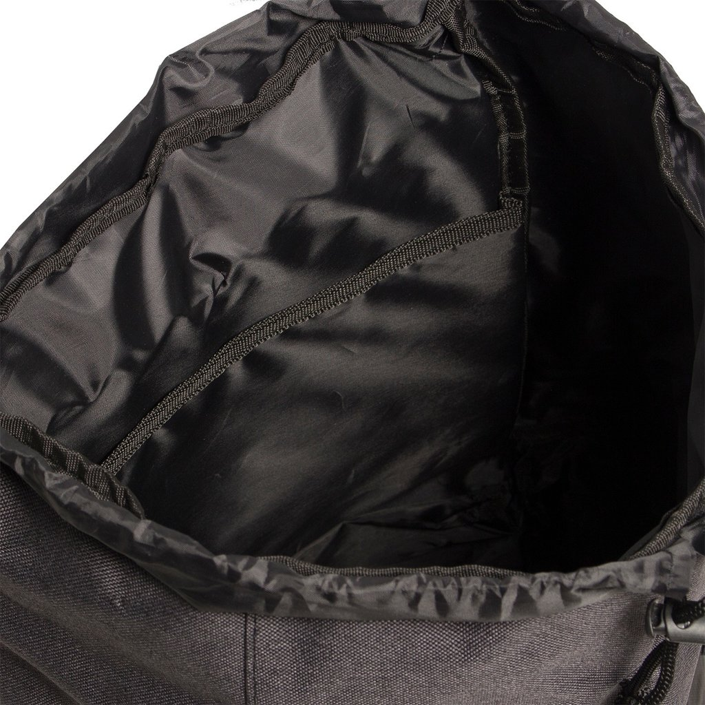 Heaven Big Flap Backpack Black XX | Rugtas | Rugzak