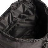 Heaven Big Flap Backpack Black XX