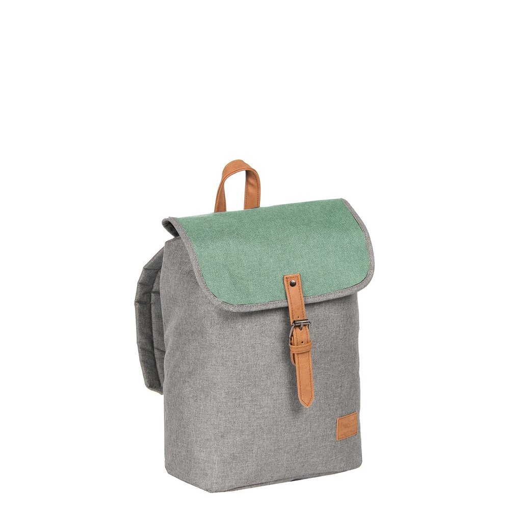 Creek Small Flap Backpack Anthracite/Mint IV | Rucksack