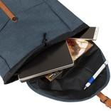 New-Rebels® Creek Big Laptop Backpack Shadow Blue V | Rugtas | Rugzak