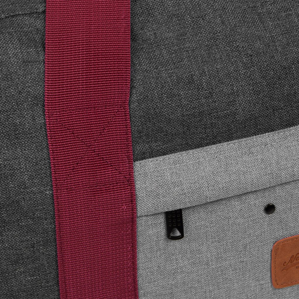 Wodz Sports Bag Anthracite/Grey Medium V | Reisetasche | Sporttasche
