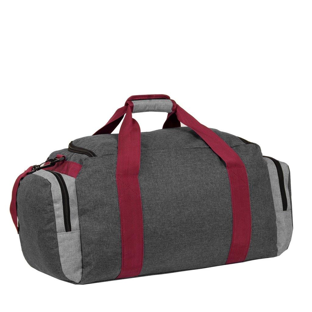 Wodz Sports Bag Anthracite/Grey Large VI | Weekendtas | Sporttas
