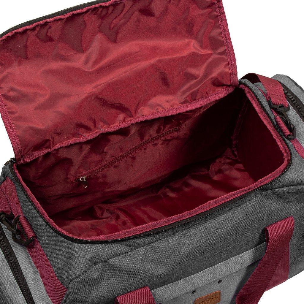 Wodz Sports Bag Anthracite/Grey Large VI | Reisetasche | Sporttasche