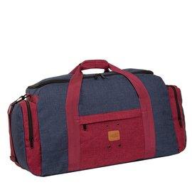 Wodz Sports Bag Navy/Burgundy Large VI | Weekendtas | Sporttas