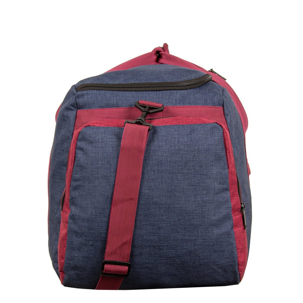Wodz Sports Bag Navy/Burgundy Large VI | Reisetasche | Sporttasche