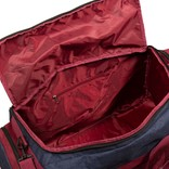 Wodz Sports Bag Navy/Burgundy Large VI | Weekendtas | Sporttas