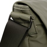 Mart Shoulderbag A4 Flapover Taupe VIII | Schoudertas