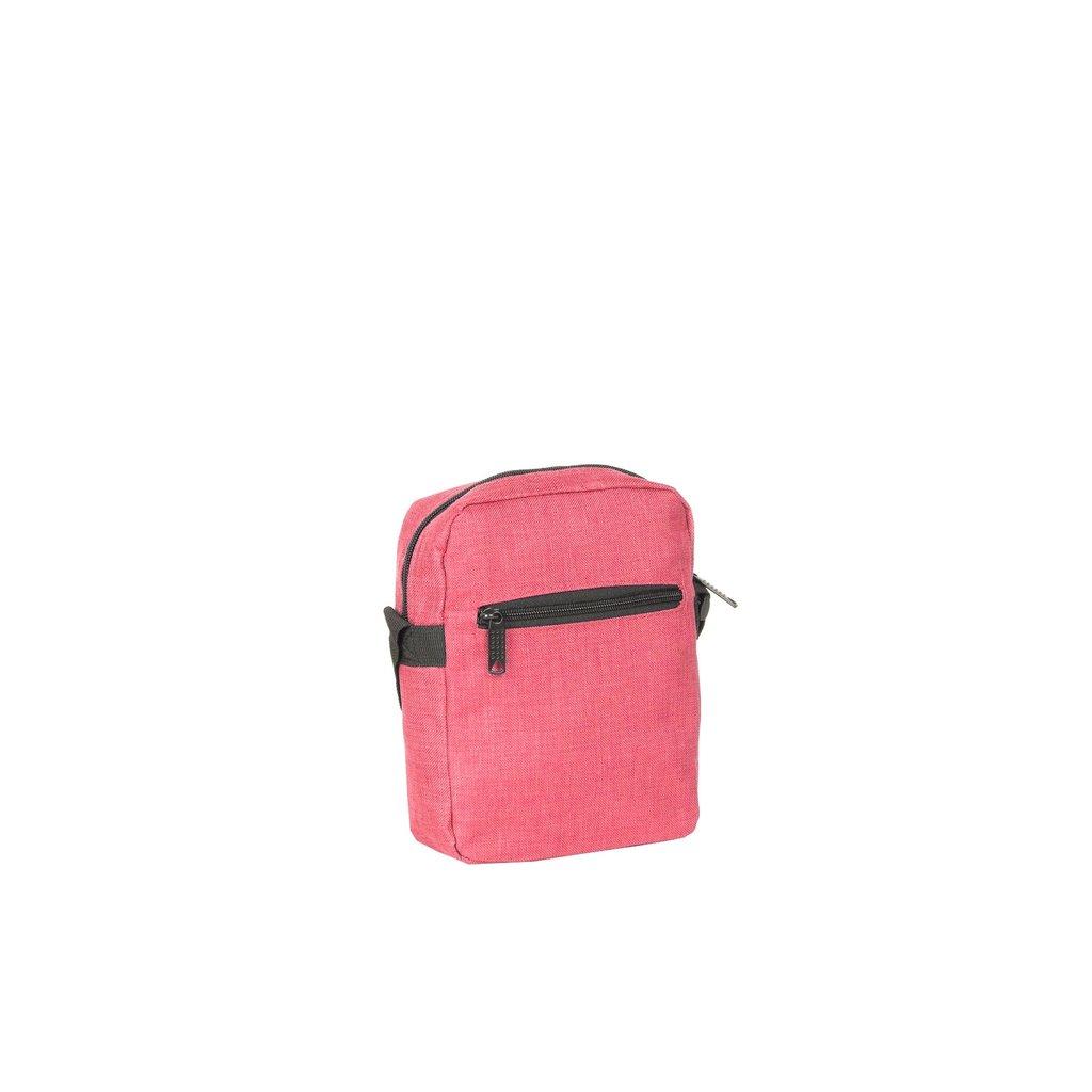 Heaven Top Zip Soft Pink V | Schoudertas