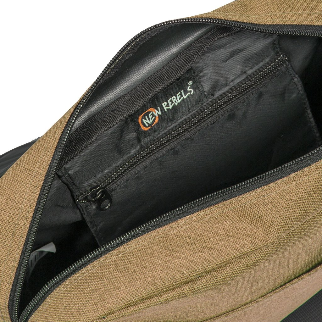 New Rebels®  Heaven25 - Medium Schaulderbag  A5 - Crossbodybag  Sand