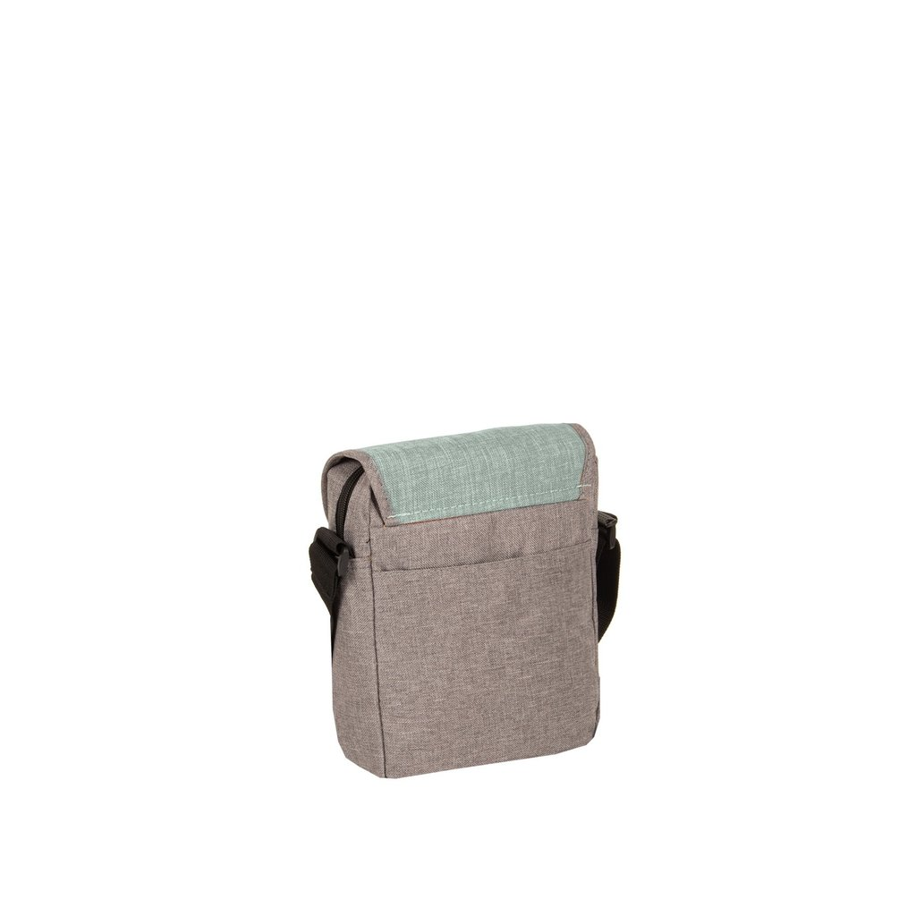Creek Small Flap Anthracite/Mint I | Schoudertas