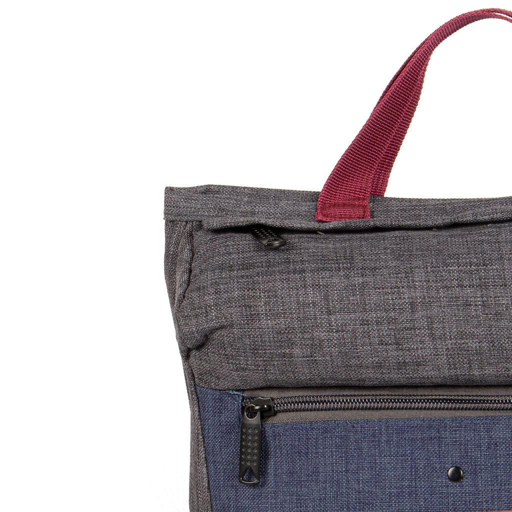 Wodz Backpack Grey/Navy I | Rucksack