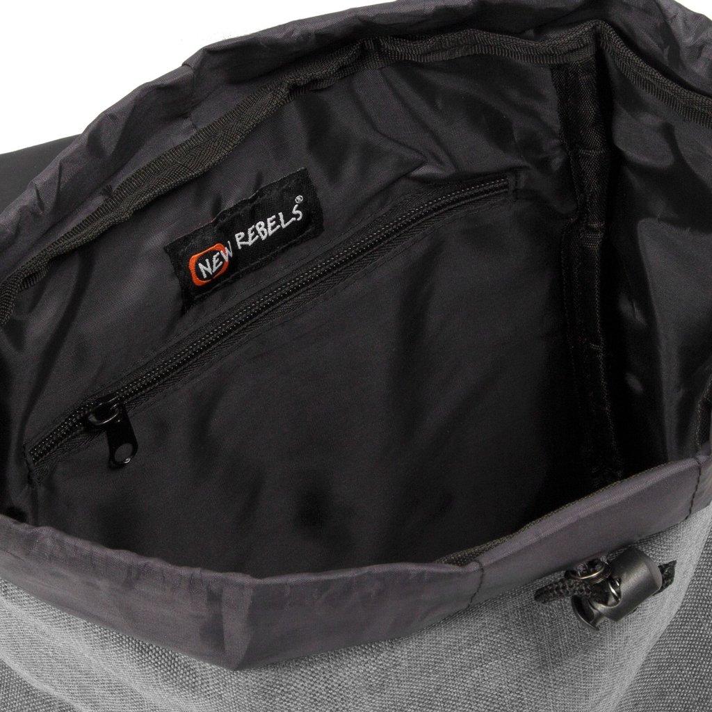 Heaven Small Flap Backpack Anthracite XIX   Rucksack
