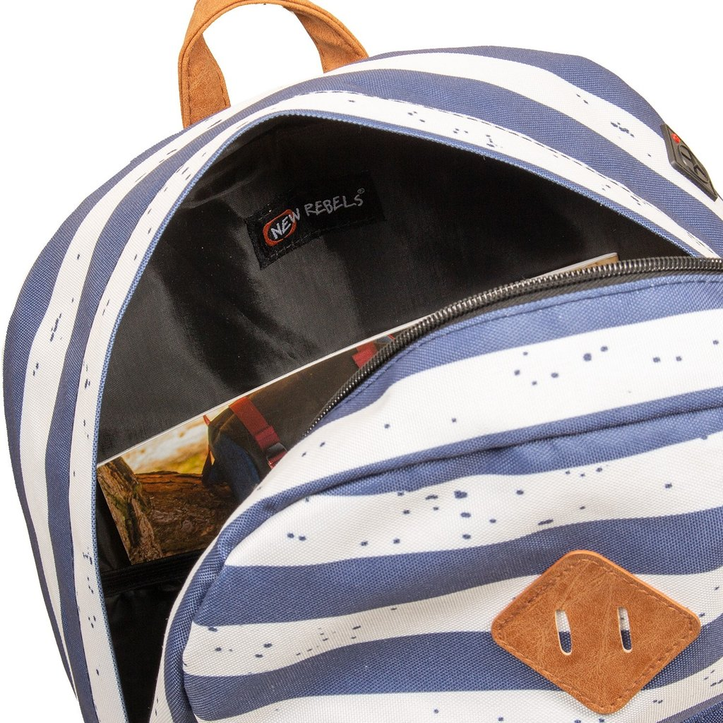 Heaven Backpack Navy Stripe XV | Rucksack