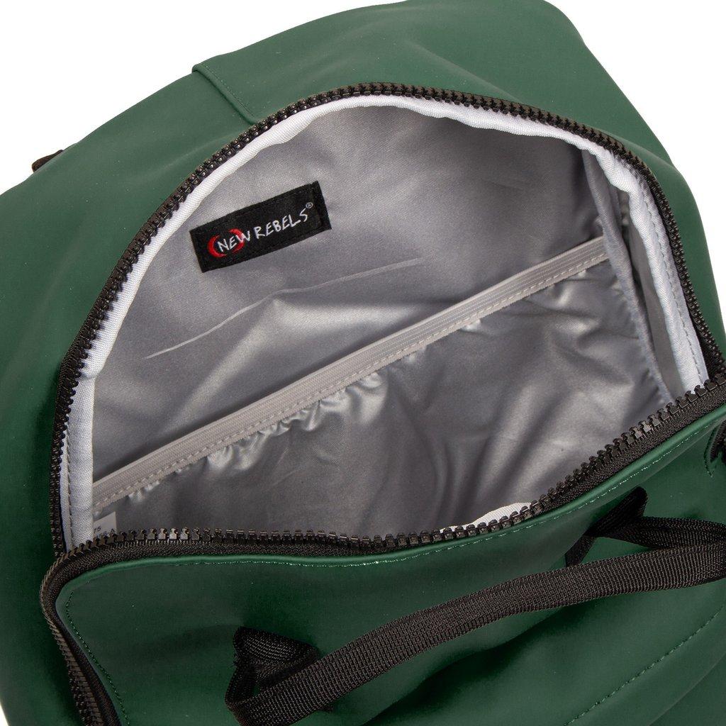 New-Rebels® Mart - Backpack - Dark Green IV - 28x16x39cm - Backpack