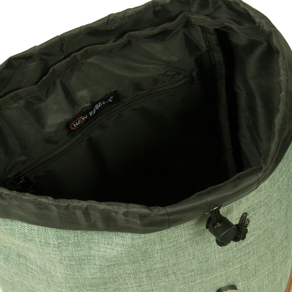 Creek Small Flap Backpack Mint/Anthracite IV