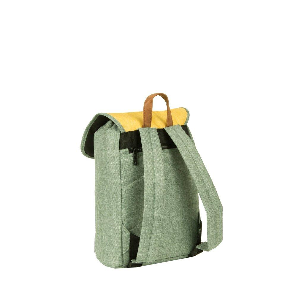Creek Small Flap Backpack Mint/Soft Yellow IV