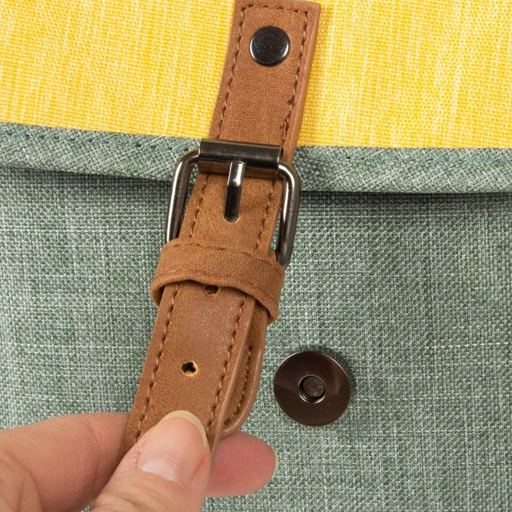 Creek Small Flap Backpack Mint/Soft Yellow IV | Rucksack
