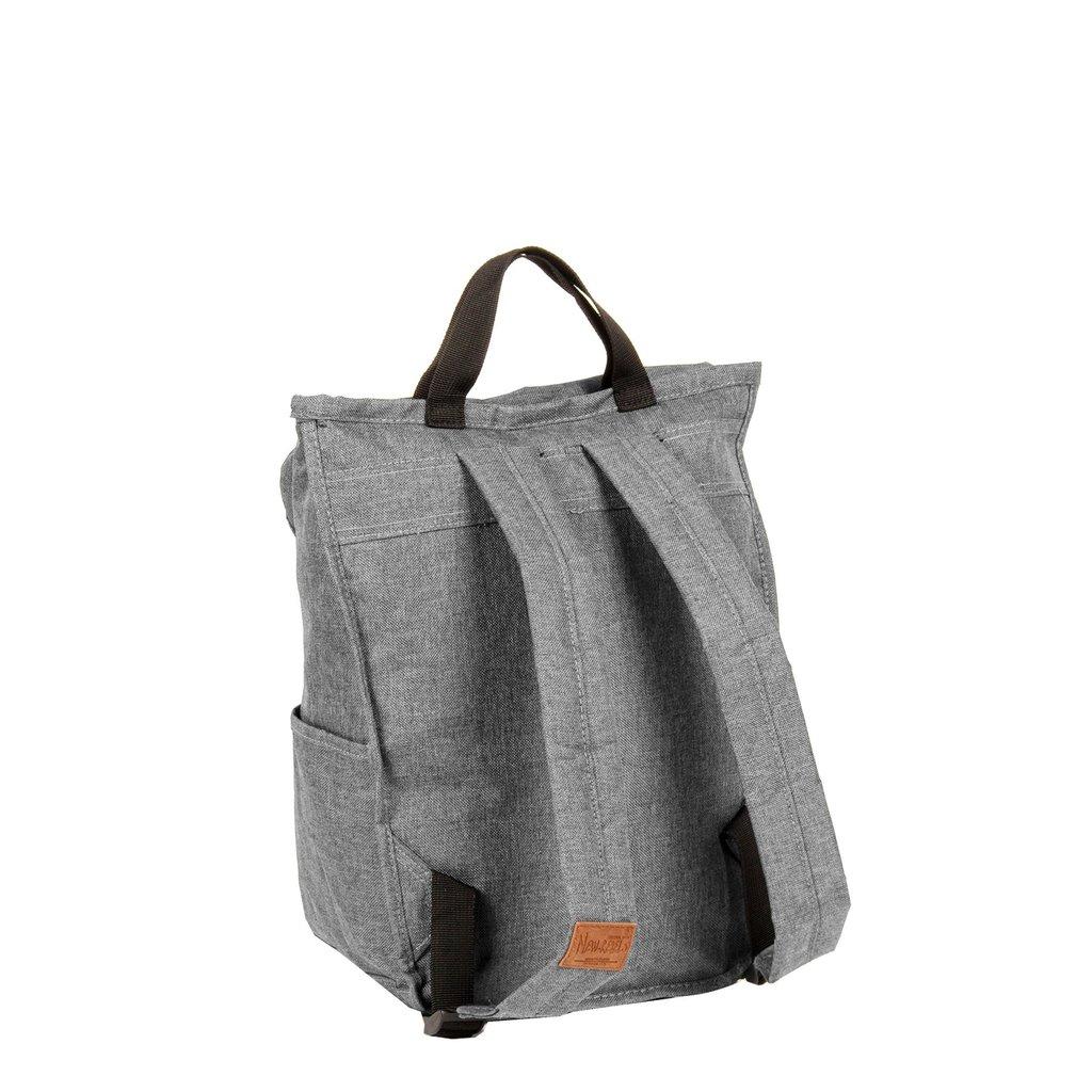 New Rebels® - Heaven - Rugzak - Laptop vak - 16L - Polyester - Antraciet