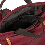 New Rebels® - Heaven - Rugzak - Laptop vak - 16L - Polyester - Burgundy