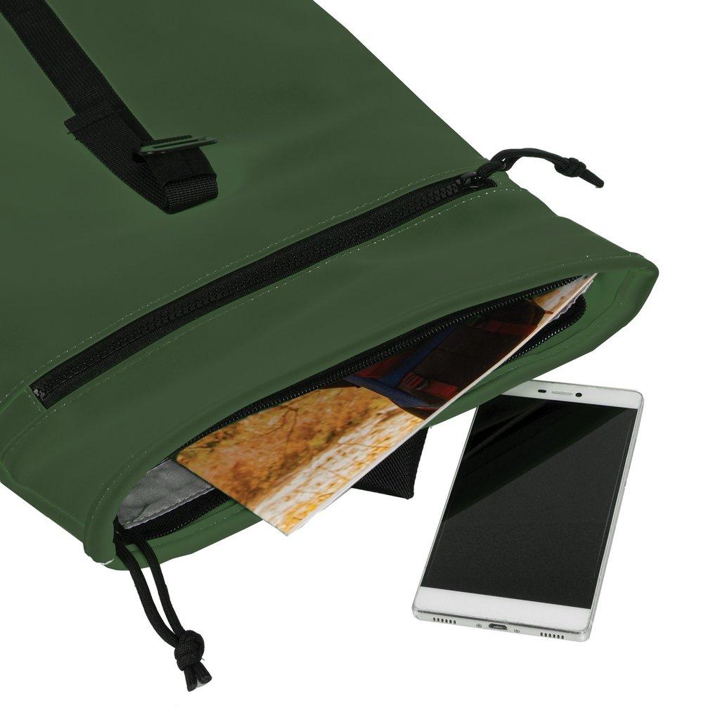 Mart Roll-Top Backpack Dark Green Small II | Rucksack