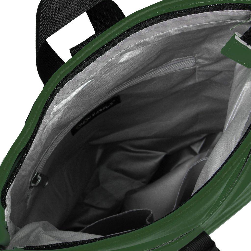 New-Rebels® Mart - Roll-Top - Backpack - Dark Green - Small II - 27x8x33cm - Backpack