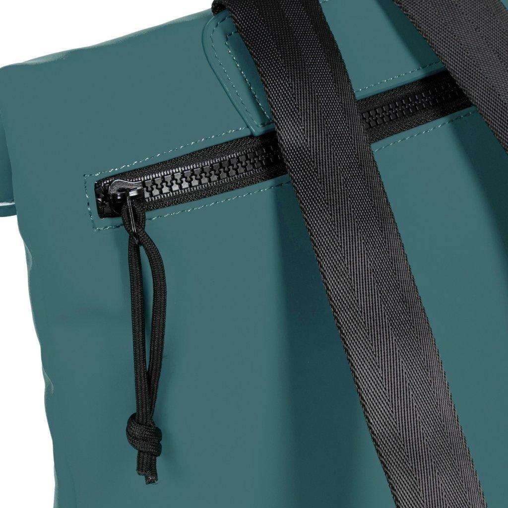 Mart Roll-Top Backpack Petrol Small II   Rucksack