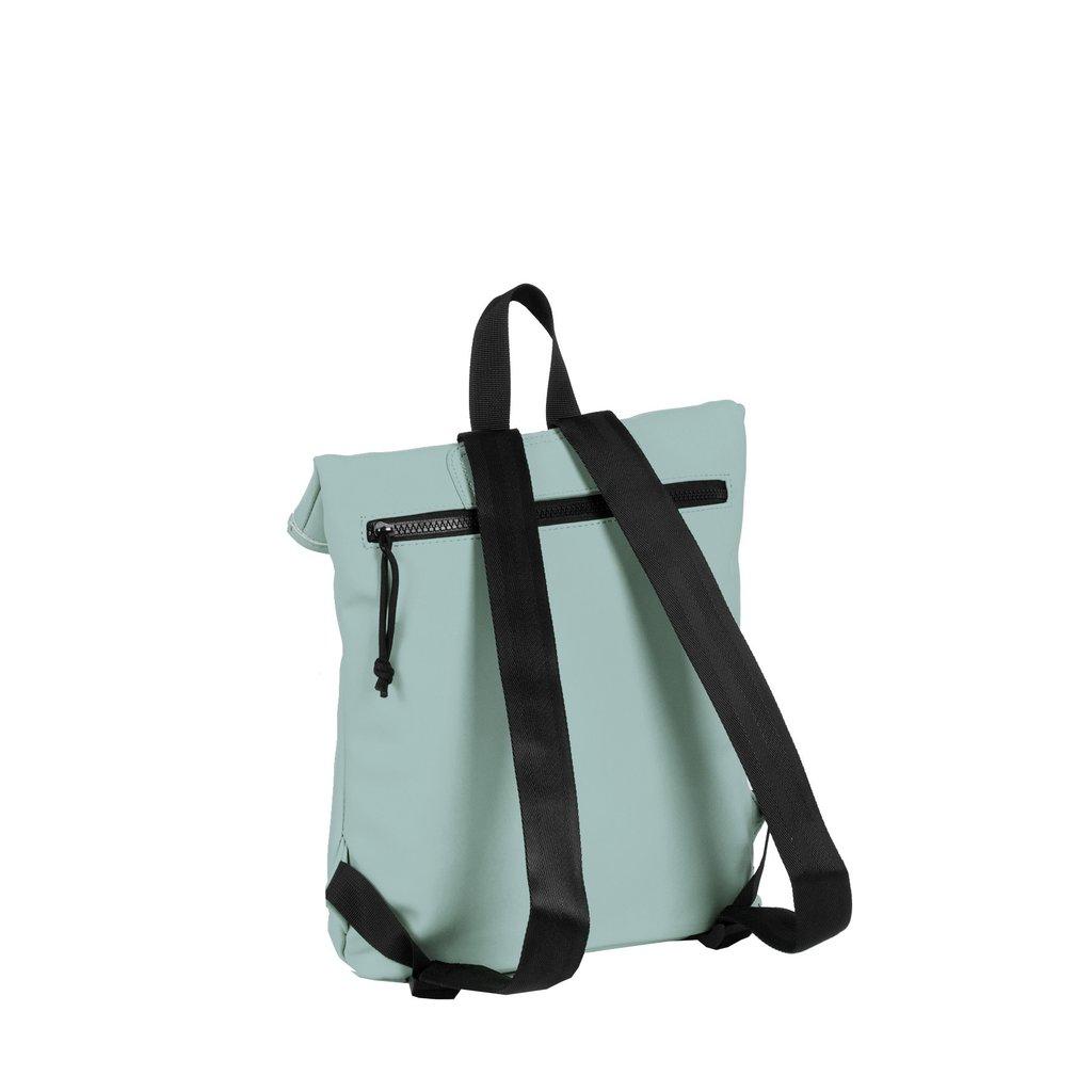 Mart Roll-Top Backpack Soft Blue Small II   Rucksack