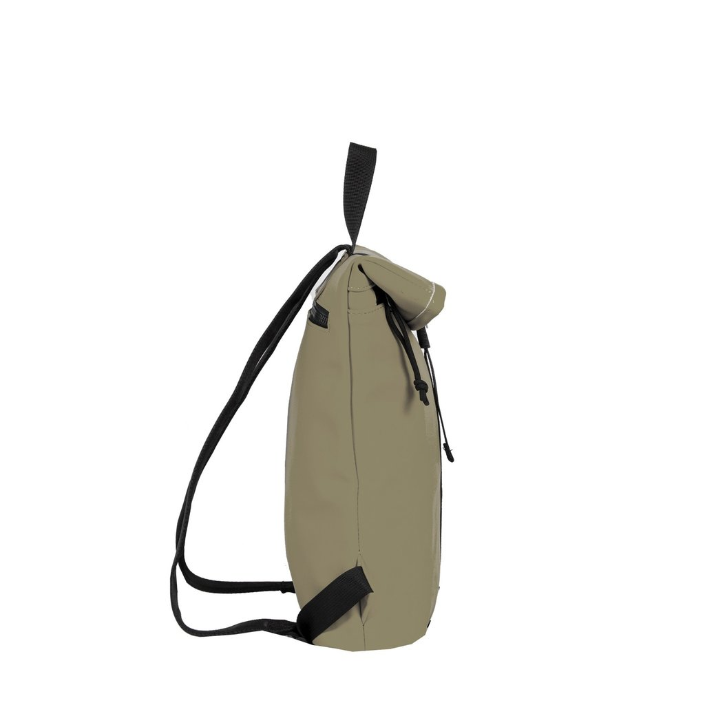 Mart Roll-Top Backpack Taupe Small II | Rucksack