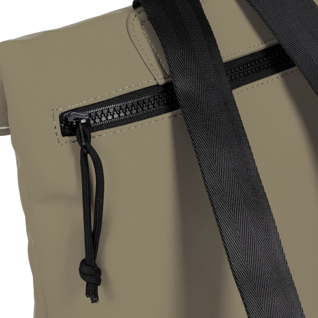 Mart Roll-Top Backpack Taupe Small II