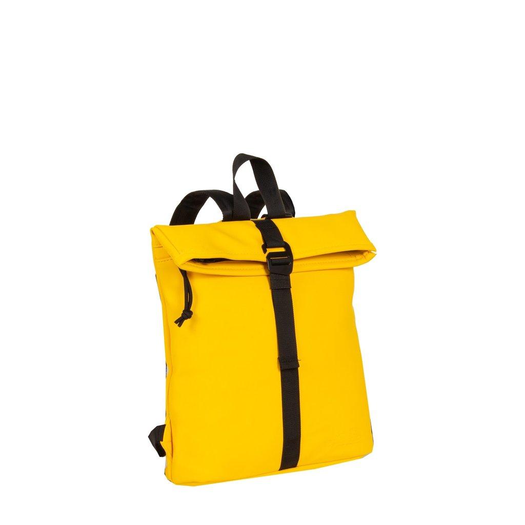 Mart Roll-Top Backpack Yellow Small II | Rugtas | Rugzak