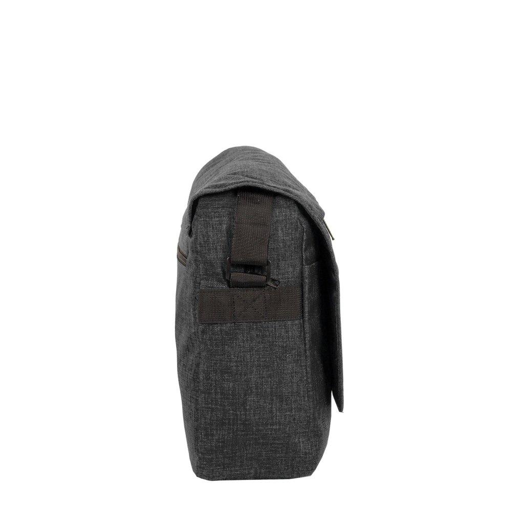 """New Rebels®  Heaven26 –  Laptopbag 15,6""""  -  Schaulderbag  A4 - Black"""