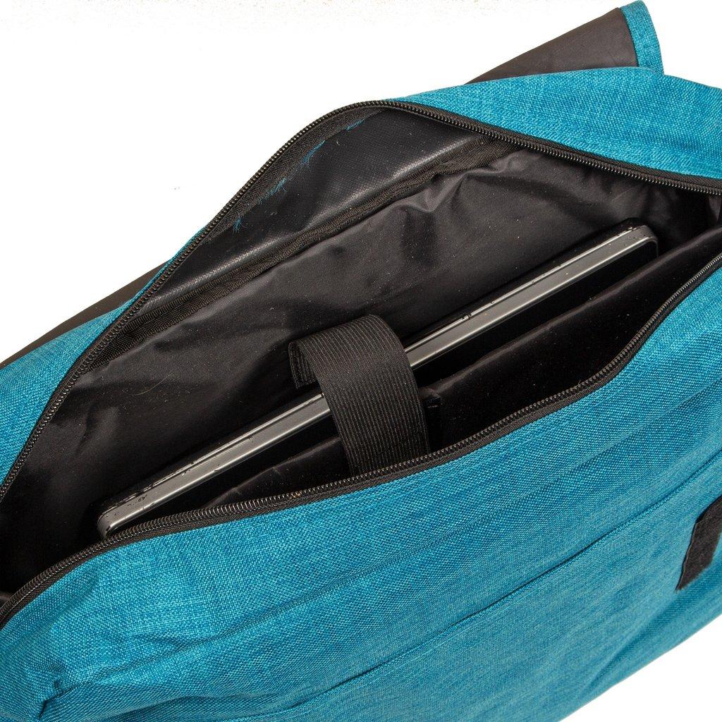 "New Rebels®  Heaven 26 - Large -  Medium Schoudertas – Laptoptas 15,6"" -  A4 –  New Blue"