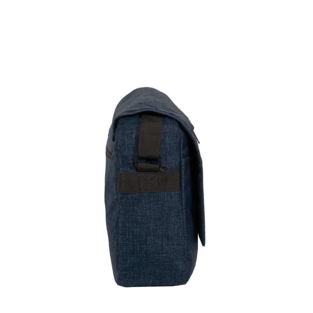 """New Rebels®  Heaven26 – Large -  Laptopbag 15,6""""  -  Schaulderbag  A4 -  Shadow Blue"""