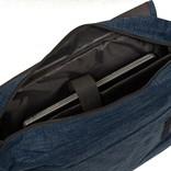 "New Rebels®  Heaven26 - Medium Schoudertas – Laptoptas 15,6"" -  A4 - Shadow Blue"