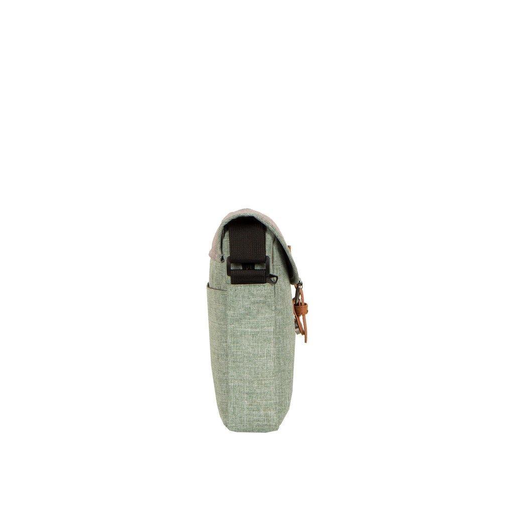 Creek Small Flap Mint/Anthracite I | Umhängetasche