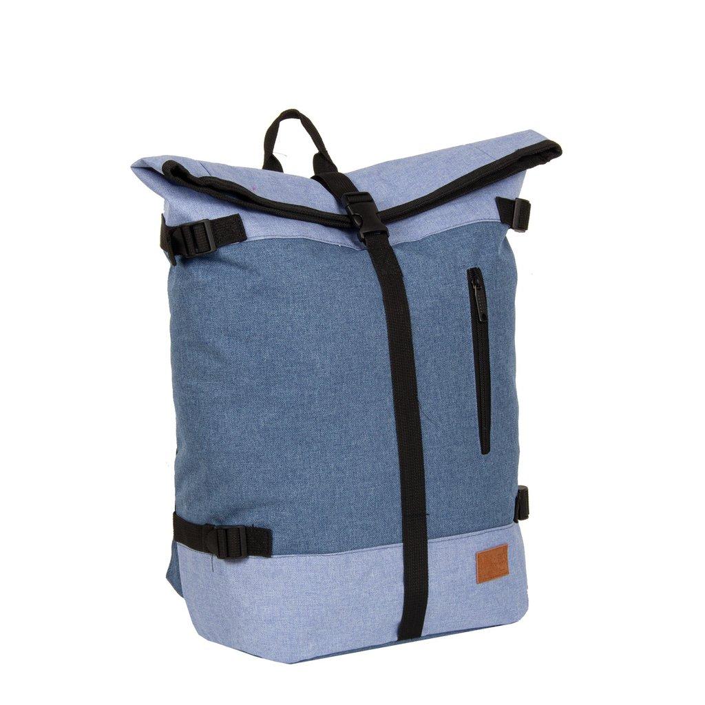 Creek Roll Top Backpack Soft Blue VII | Rucksack