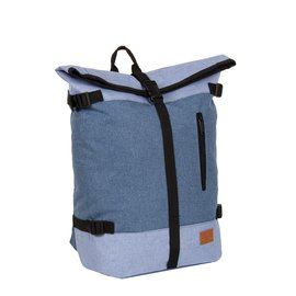 Creek Roll Top Backpack Soft Blue VII | Rugtas | Rugzak