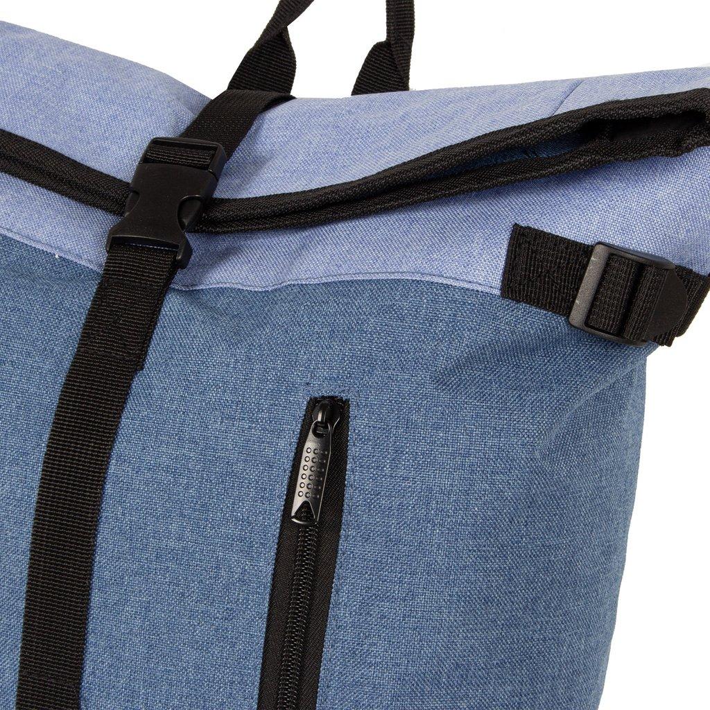 Creek Roll Top Backpack Soft Blue VII | Rugtas | Rugzak