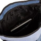 Creek Roll Top Backpack Soft Blue VII