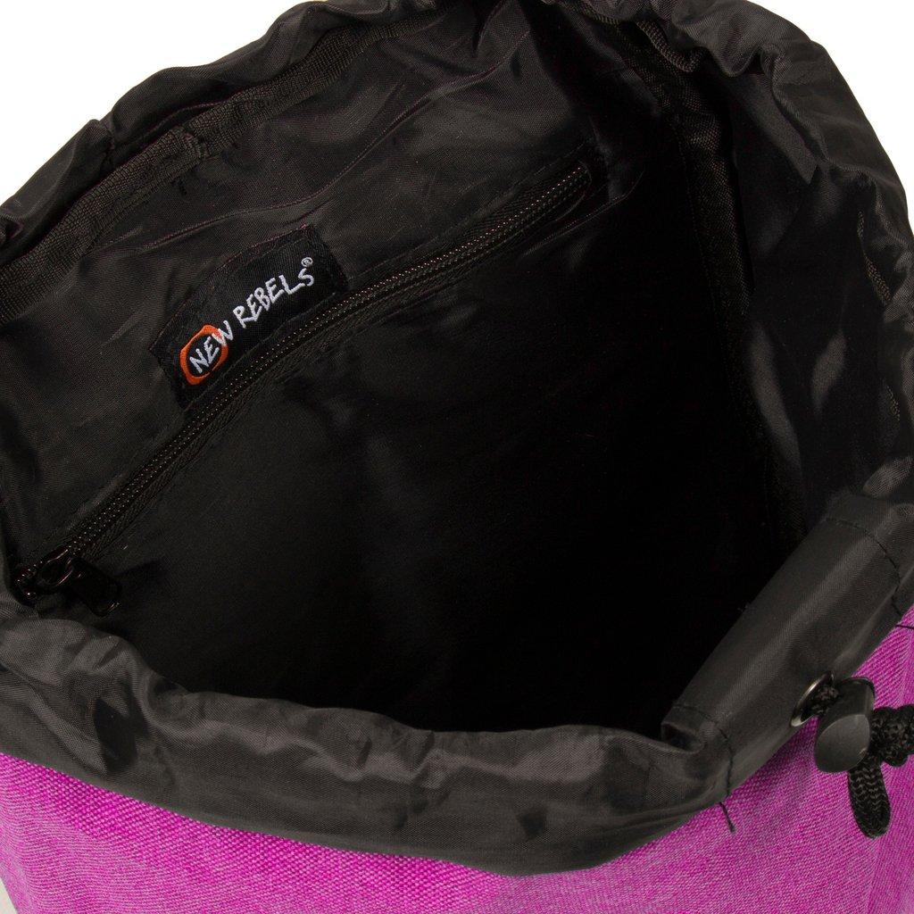Heaven Small Flap Backpack Fuchsia XIX   Rucksack
