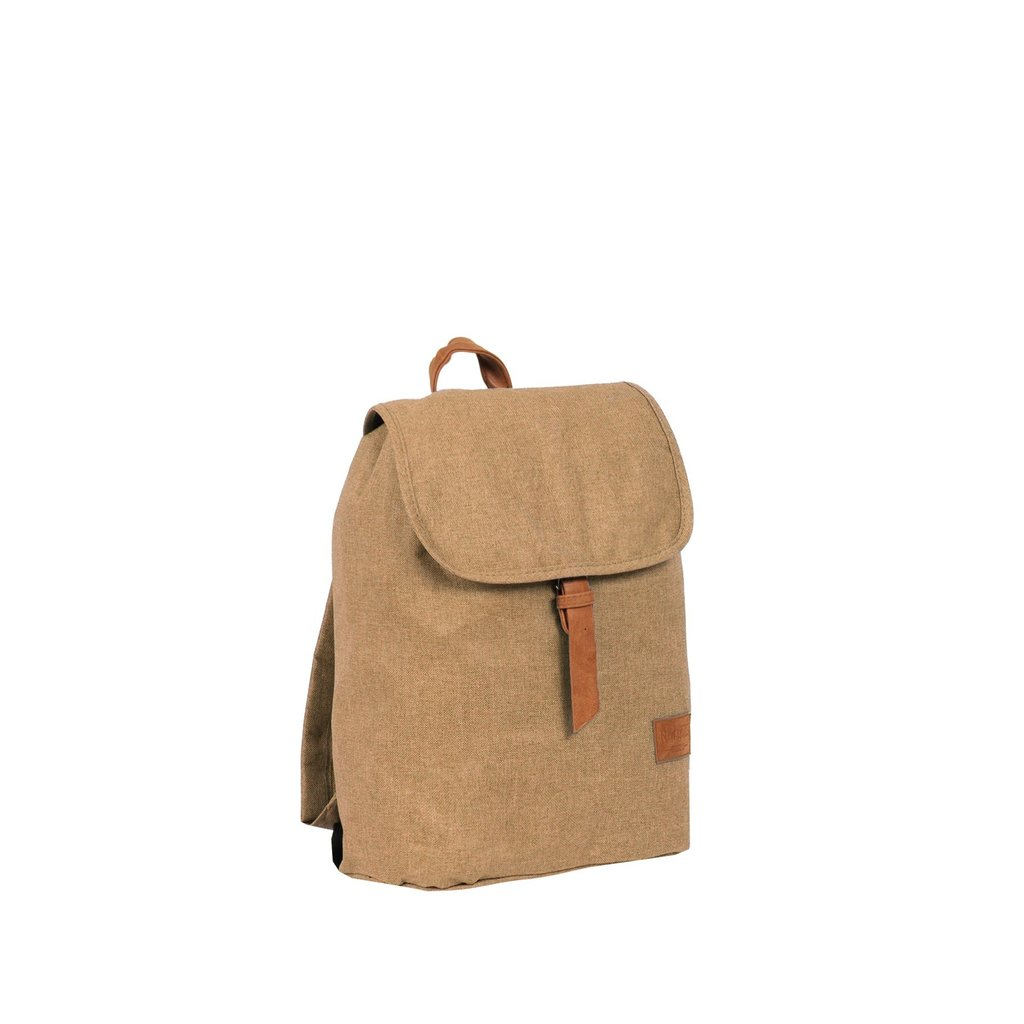 Heaven Small Flap Backpack Sand XIX | Rugtas | Rugzak