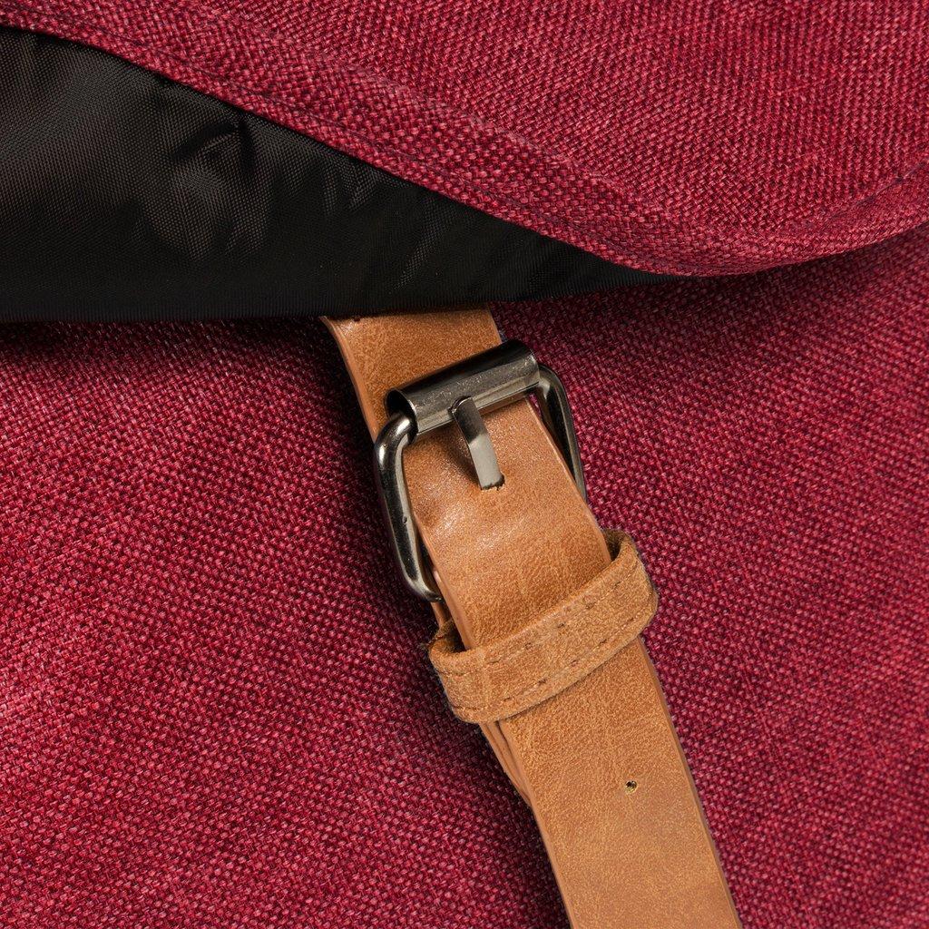 Heaven Small Flap Backpack Burgundy XIX | Rugtas | Rugzak