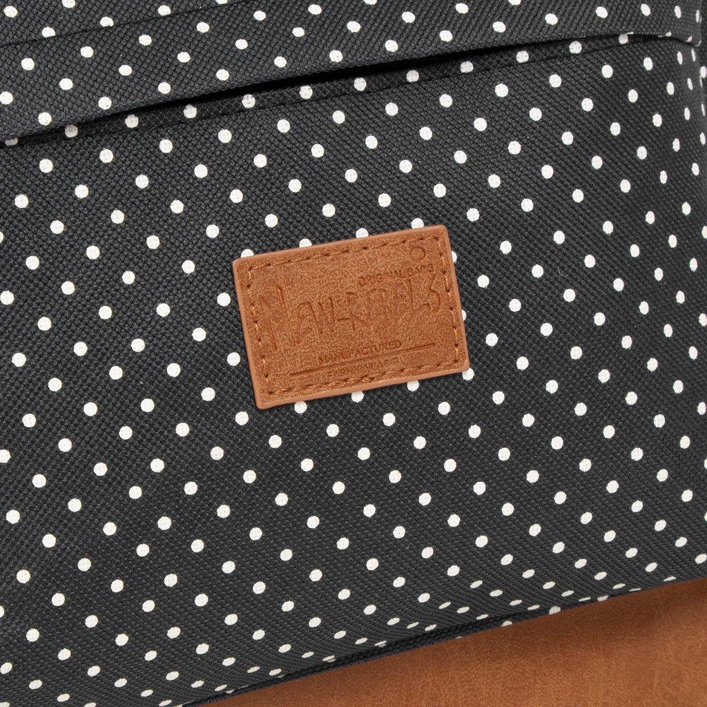 New Rebels Heaven Backpack Black/White Dot XV | Rucksack