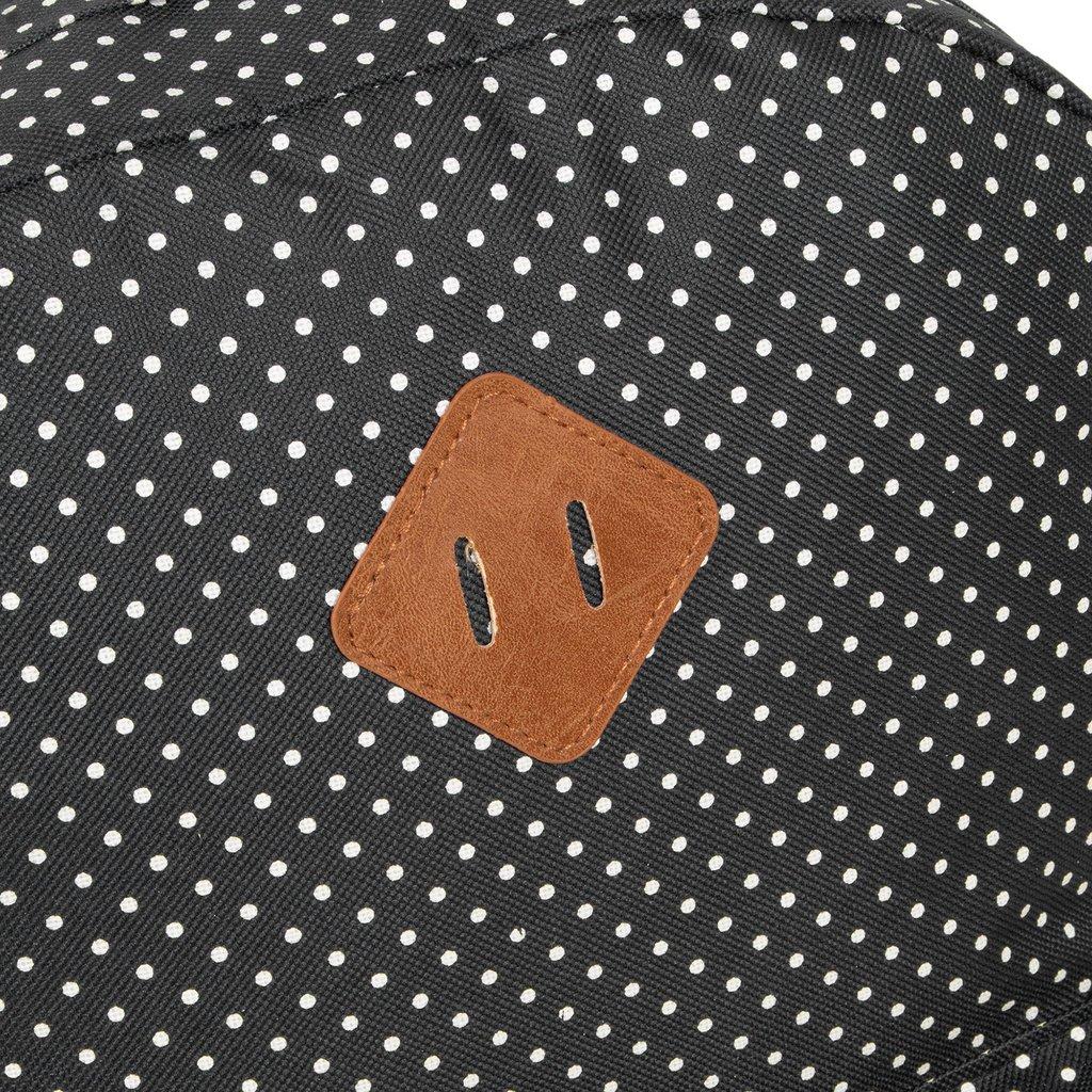 Heaven Backpack Black/White Dot XV