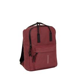 New-Rebels® Mart - Backpack - Waterafstotend - Burgundy IV - Rugtas - Rugzak